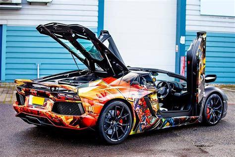 Lamborghini Aventador Gets A Marvelous Superhero Wrap