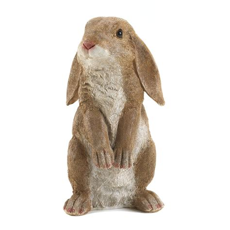 curious rabbit garden statue wholesale at koehler home decor