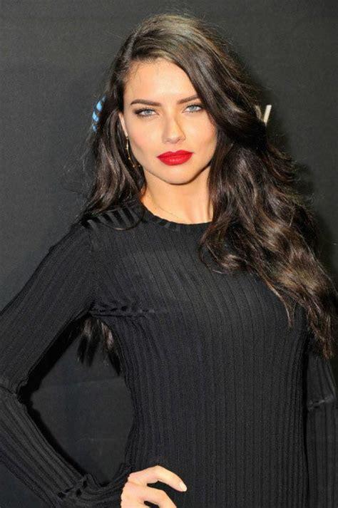 Adriana Lima Hair, Hairstyle, Haircut, Hair Color   Trendy