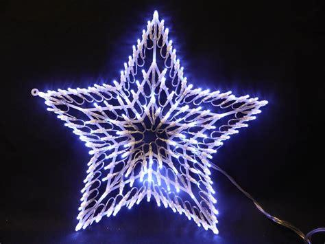 led chasing window light star christmas lights