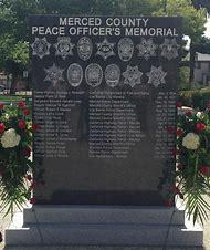 Merced Peace Officers Memorial