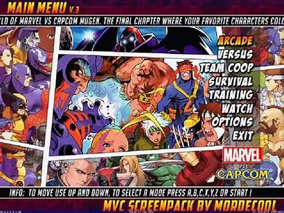 Capcom Marvel Screenpack Mvc Mugen Cvs Games