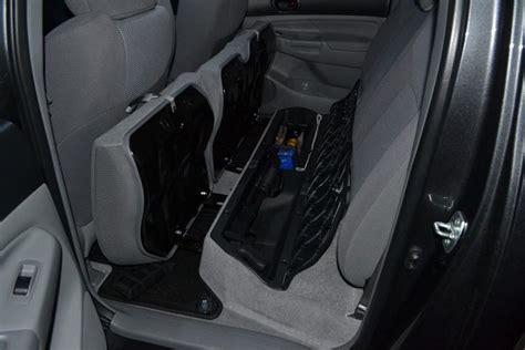 subs  backseat tacoma world