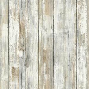 RoomMates 28 18 sq ft Distressed Wood Peel and Stick