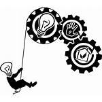 Creativity Icons Clipart Symbol Icon Human Silhouette
