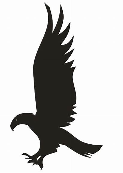 Ravenclaw Eagle Potter Harry Silhouette Stencil Stencils