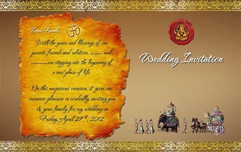 indian wedding card design psd files  downloadwedding