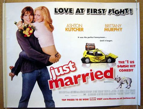 Just Married Original Cinema Movie Poster From