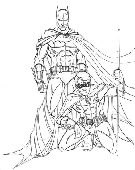 Batman Coloring Pages Drawings