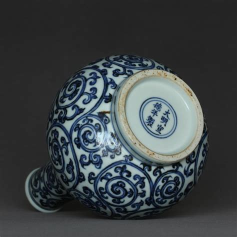 Ming Dynasty Marks On Vases by Blue And White Porcelain Vase Of Ming Dynasty Xuande