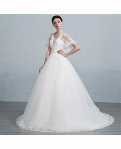 dreamy ball gown strapless court train tulle wedding dress With strapless tulle wedding dress