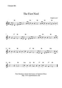 Free Clarinet Christmas Sheet Music