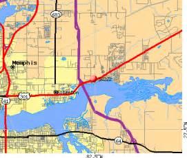 Ellenton FL Zip Code Map