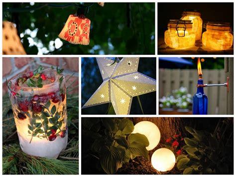 18 Stunning DIY Outdoor Lighting Ideas