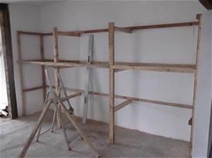 Werkstatt Regale Selber Bauen : werkstattregal 4m x 2m x 0 80 m bauanleitung zum selber bauen ~ Markanthonyermac.com Haus und Dekorationen
