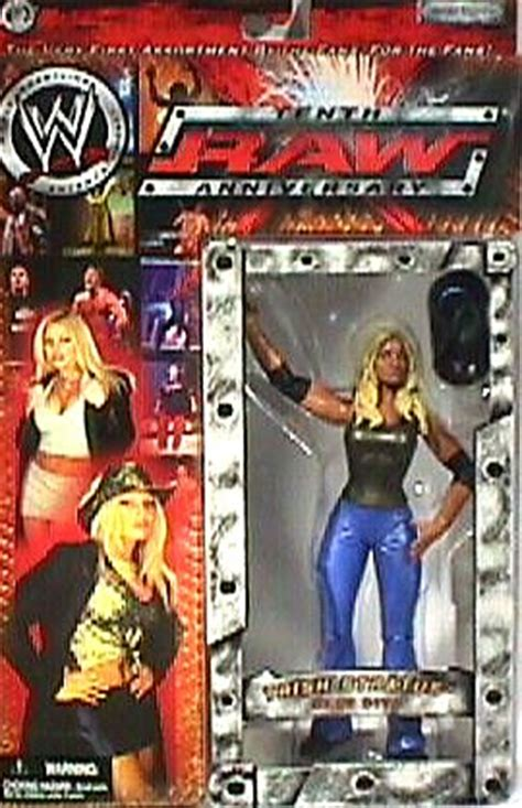 wwe diva trish stratus raw  tenth anniversary moc