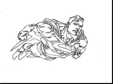 Marvelous Superman Printable Coloring Pages With Page And