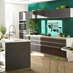 idee couleur peinture cuisine 2018 et tendance peinture With idee couleur cuisine moderne