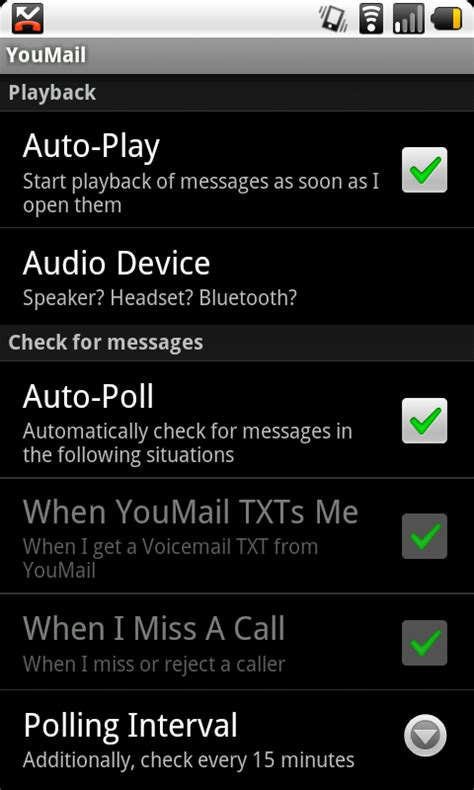 visual voicemail android android app youmail visual voicemail android central