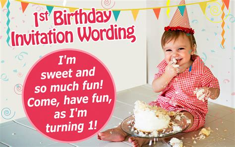 great examples  st birthday invitation wordings