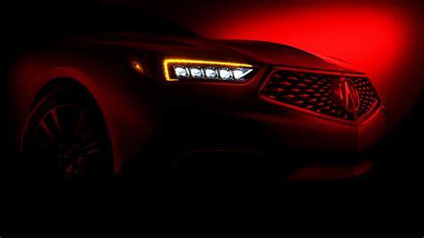2018 Acura Tlx Will Boast New Look Tech