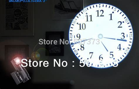 3ag Hot Sale Wall Digital Led Projector Clock Projection