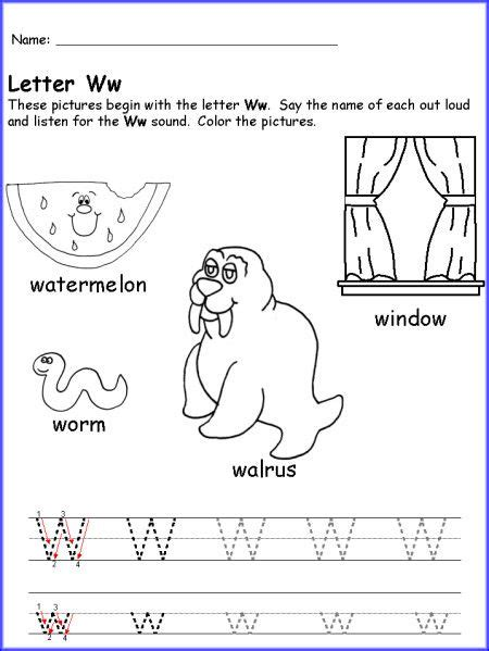 letter w activities writing the letter w worksheet just teaching stuff