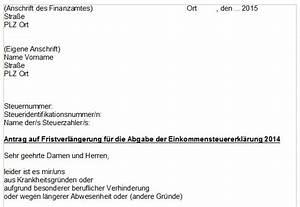 Fristverlängerung Steuer 2016 : steuererkl rung 2017 antrag auf fristverl ngerung ~ Lizthompson.info Haus und Dekorationen