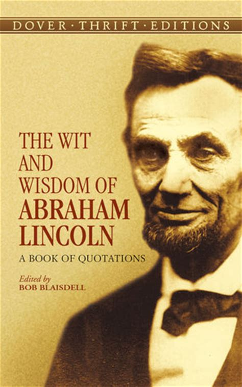 wit  wisdom  abraham lincoln  book
