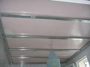 Pose D Un Faux Plafond En Ba13 : la maison de sophie salle de bains ~ Melissatoandfro.com Idées de Décoration