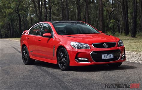 holden ssv 2016 holden commodore ss v redline vf ii review video