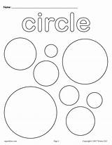 Coloring Shapes Circle Pages Shape Circles Preschool Printable Toddlers Worksheets Squares Kindergarten Worksheet Preschoolers Toddler 3d Colors Supplyme Sheets Activities sketch template