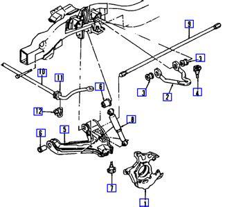 Diagram Front Suspension For Chevy Blazer Fixya