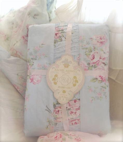 shabby chic bedding nz shabby chic 174 tm rachel ashwell queen bed bella rose duvet doona quilt cover rare ebay