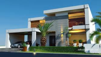 contemporary home design 3d front elevation com beautiful contemporary house design 2016