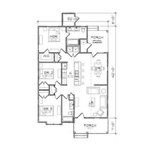 bungalow blueprints carson ii bungalow floor plan tightlines designs
