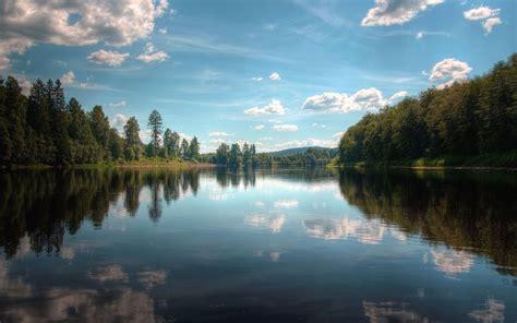 Nature Forest River, Desktop Wallpaper Nr 56567 By Striker