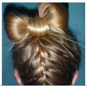 Exclusive Cute Girls Hairstyle Bow Braid - HairzStyle.Com ...