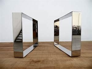 Sofa Beine Holz : 15 x 21 breite flache edelstahl tisch beine beine sofa h he 8 bis 17 set 2 zuk nftige ~ Buech-reservation.com Haus und Dekorationen