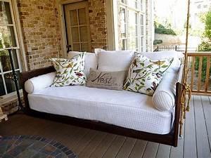 19 Marvelous Porch Swing Designs For Spring Enjoyment