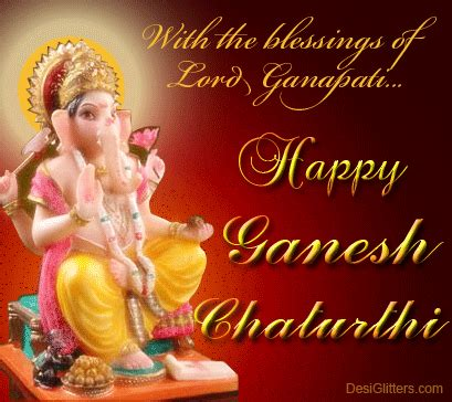 happy ganesh chaturthi cartoon funny gif   whatsapp facebook