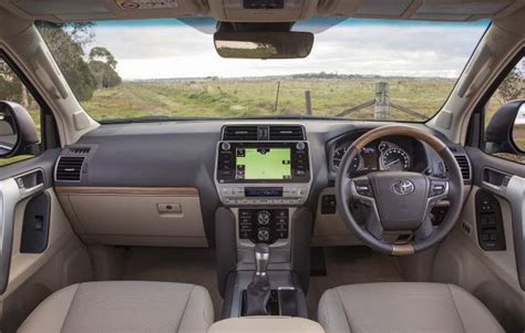 toyota land cruiser prado facelift diesel interior