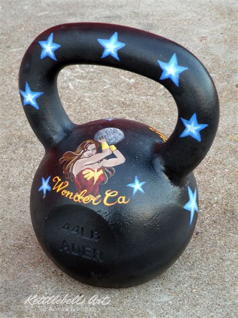 kettlebell birthday painted surprise atlas custom kettlebells training arismendi gifts athlete pood gift commissioned outer space sling tennant jessica ready