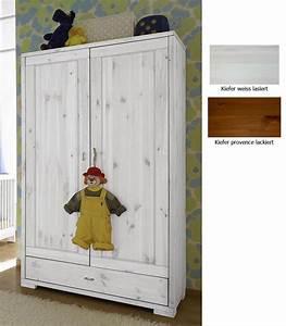 Babybett Holz Weiß : massivholz kinderschrank 2t rig babyschrank kleiderschrank ~ Whattoseeinmadrid.com Haus und Dekorationen