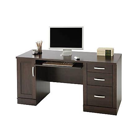 liberal sauder computer desk sauder palladia vintage oak