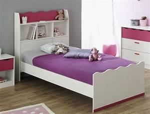 Bett Für Mädchen : jugendbett 90x200 cm m dchen wei pink m dchenzimmer kinderzimmer bett lilan 5 ebay ~ Markanthonyermac.com Haus und Dekorationen