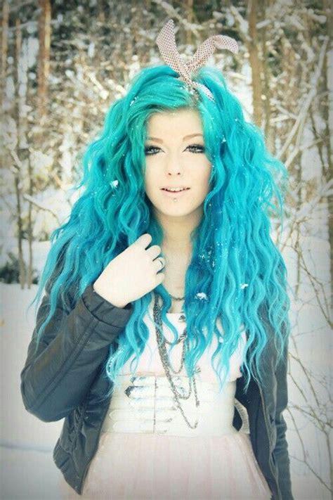 Hair Blue by Hair Color Trend Dreamy Blue Hair Pretty Designs