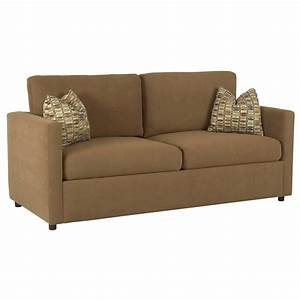 Casual queen sleeper sofa by klaussner wolf and gardiner for Sectional sofas gardiners