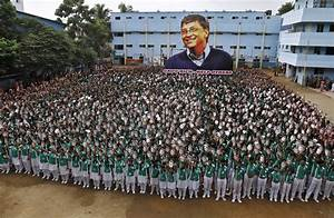 Students In India Honor Bill Gates On His Birthday | Time