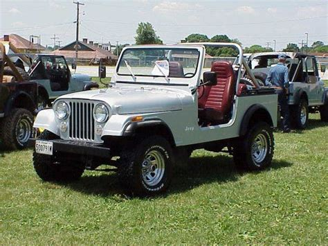 The Second Car I Owned. Jeep Cj 7. Worst Steering On Any